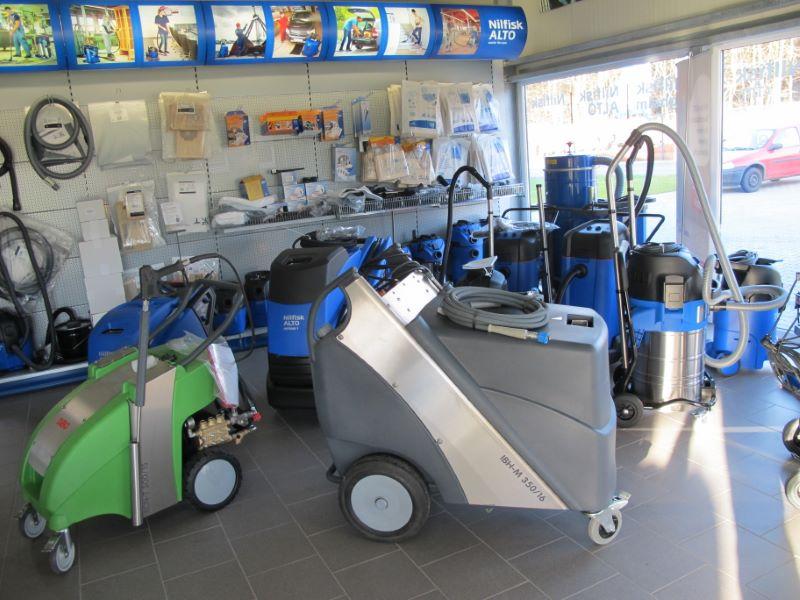 MPR neue Reinigungsmaschinen