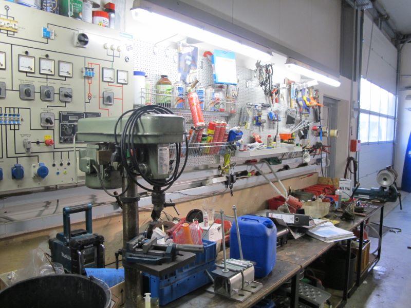 Werkstatt und Wartung Reinigungsmaschinen